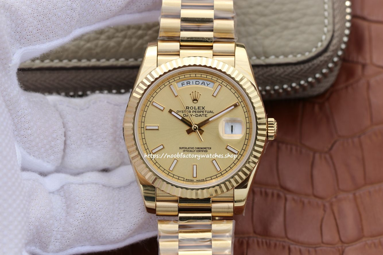 Rolex Yellow Gold President Day Date 40 228238 Cr